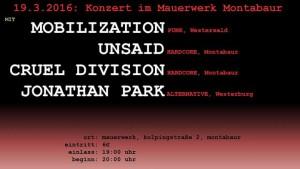 2016-03-19_Mobilization_Mauerwerk-Line-up