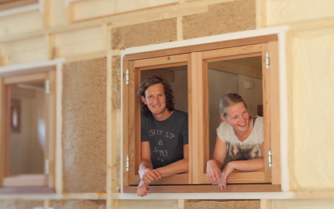 Shirly & Roy bouwen een Tiny House