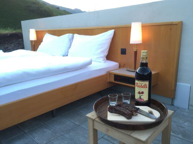 Het eerste openluchthotel in de Alpen