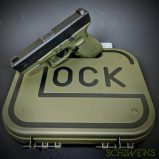 Glock 19 OD Green cerakote