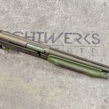 green burnt bronze shotgun