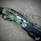 green kryptek shotgun