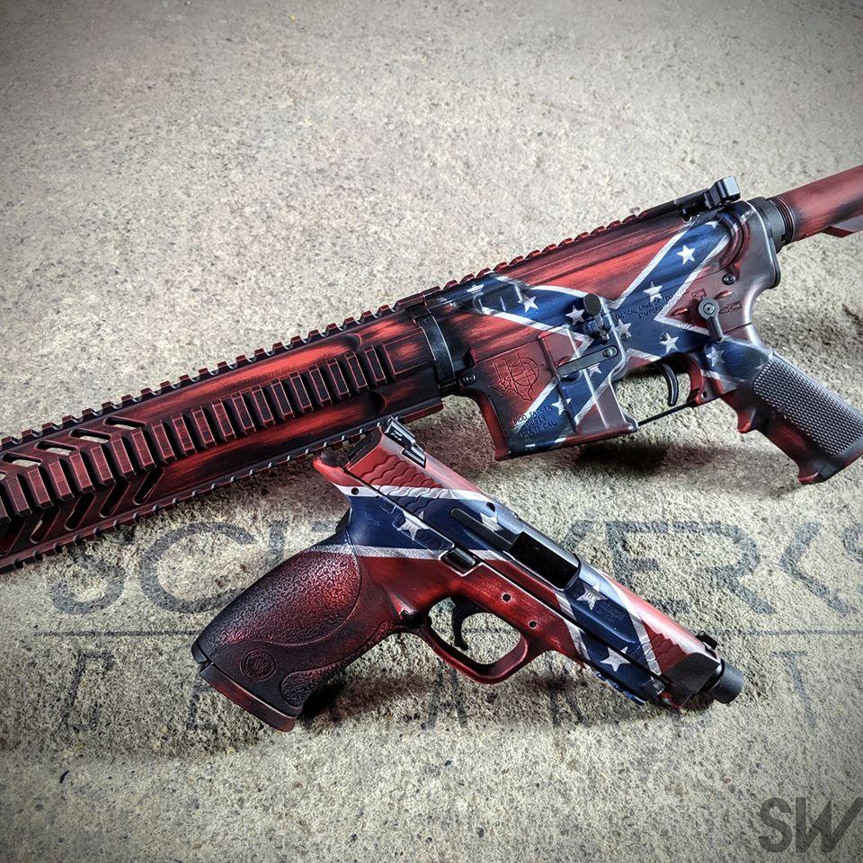 confederate flag cerakote