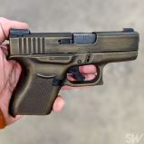 glock 43 worn burnt bronze