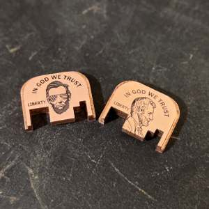 Copper Glock backplates