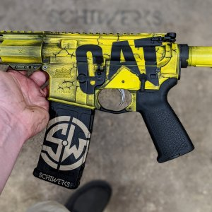 caterpillar cat ar gun cerakote