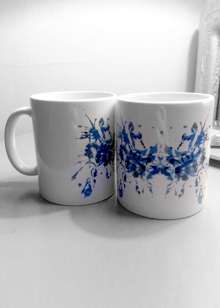 Schizophrenic.NYC Rorchach Test Mugs! 1