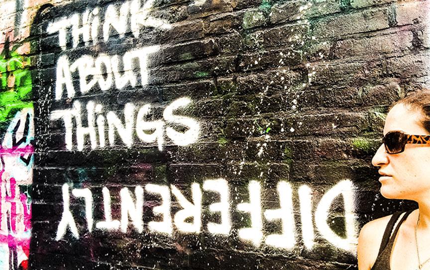 Nyc graffiti and dont be paranoid