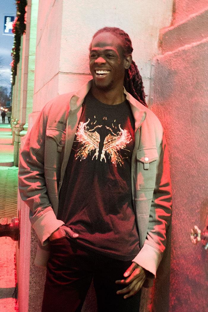 Black fire ink t-shirt 2