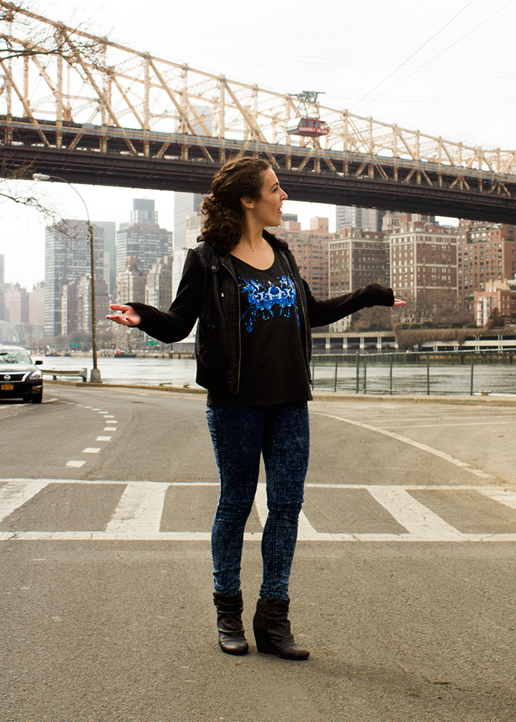 New yorker michelle p. In the blue ink tank! 2