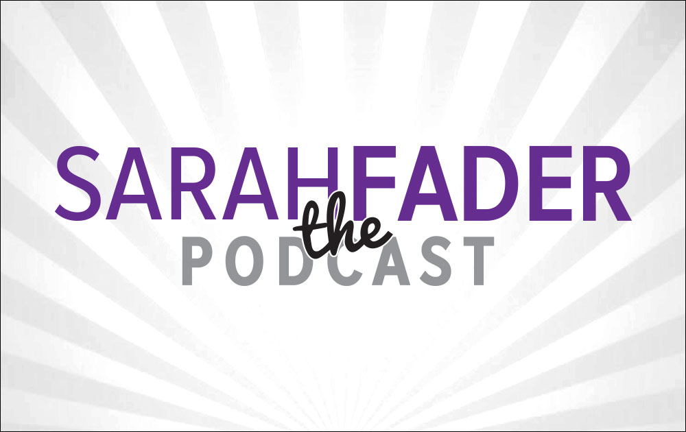 Michelle was featured in sarah fader the podcast! 1