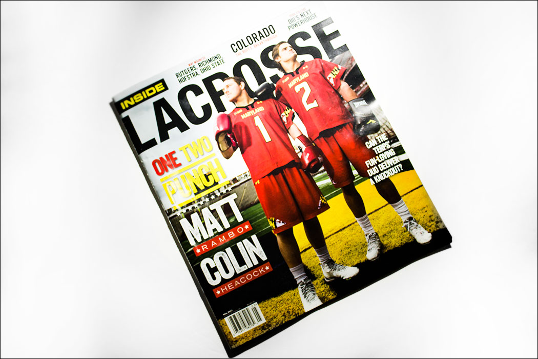 Schizophrenic. Nyc featured in inside lacrosse magazine! 2