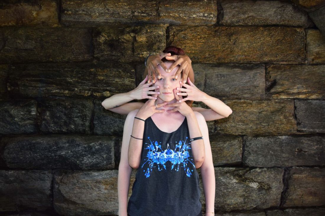 NYC's Borne Dance Company models Rorschach Designs by Schizophrenic.NYC 6