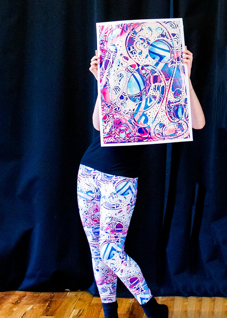 Schizophrenic.NYC ILLusion Leggings Now Available 10