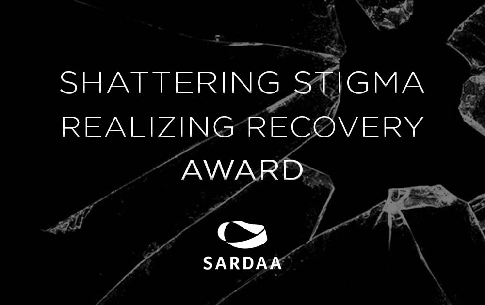 Michelle earned the shattering stigma award from sardaa 67