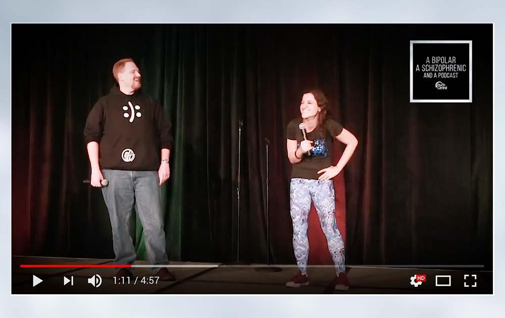 A bipolar, a schizophrenic, and an open mic 53