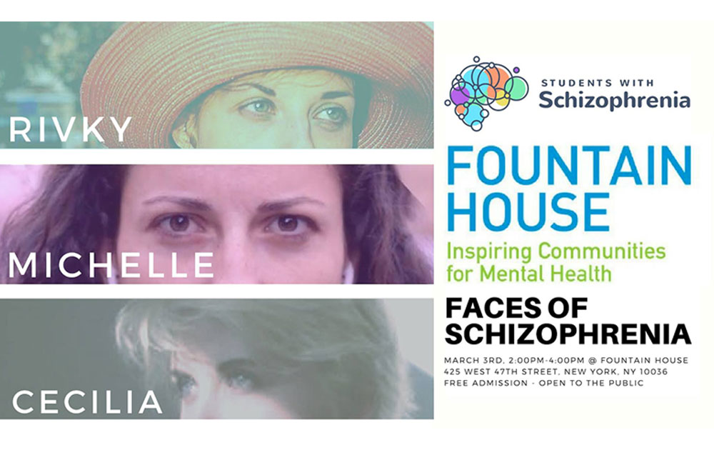 Faces of schizophrenia - hosted by students with schizophrenia 22