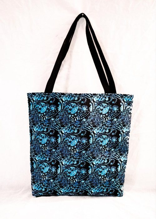 'silence' stye tote bag by schizophrenic. Nyc