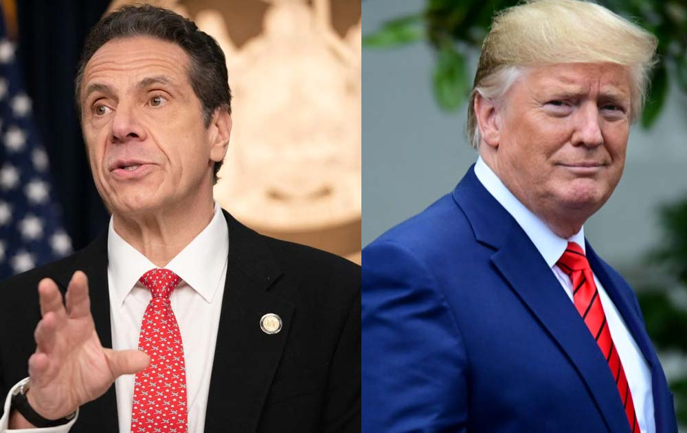 President trump and governor cuomo