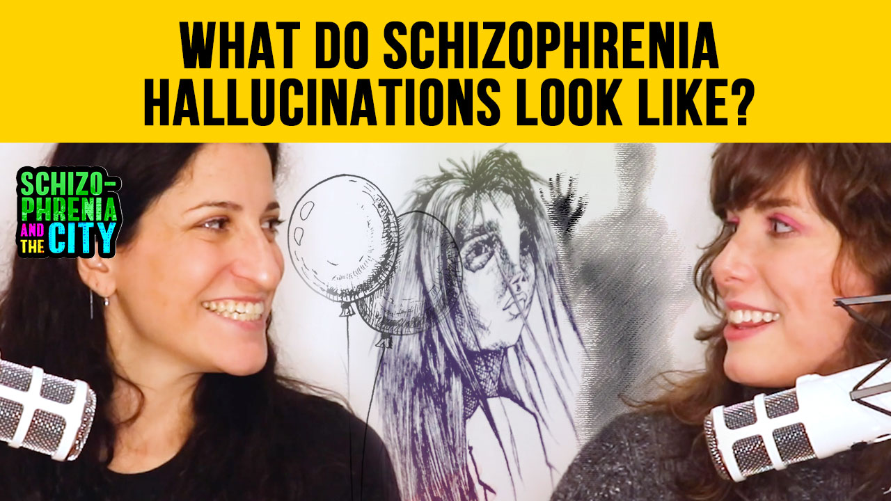 what do schizophrenic hallucinations look like