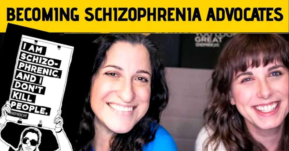 Becoming schizophrenia advocates