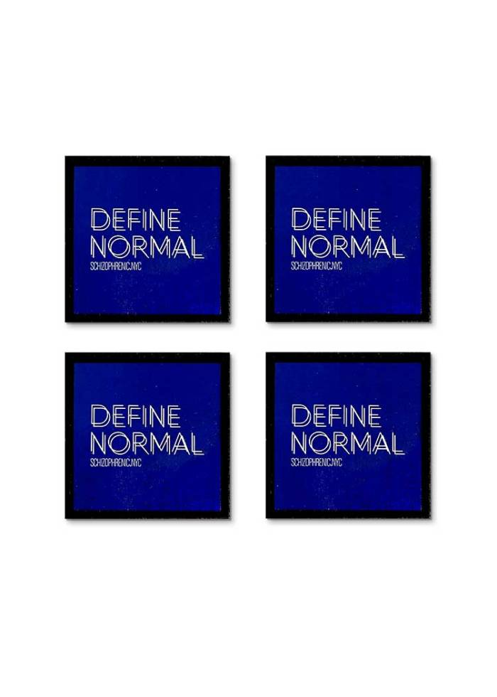 Define normal mental health coaster set