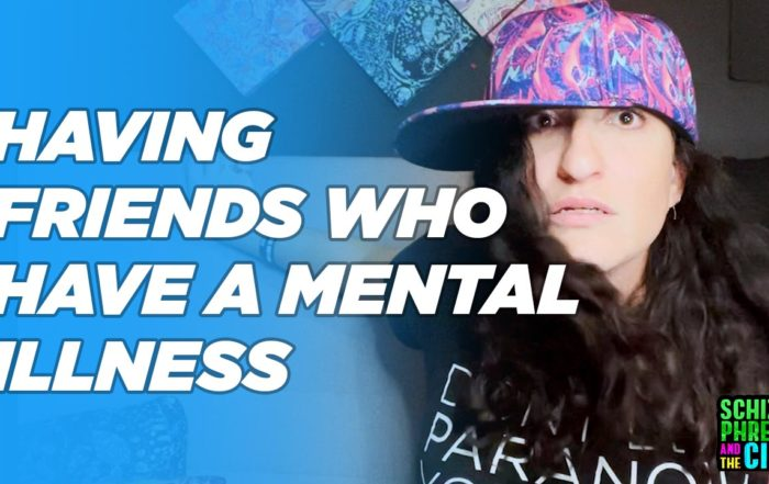 Having friends who have a mental illness