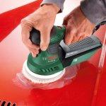 Bosch DIY Exzenterschleifer mit Polieraufsatz