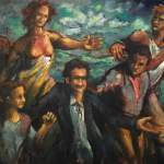 Subprime Mariners - oil on canvas - Michael Schliefke