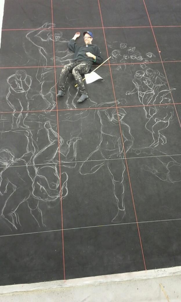 scenic drawing