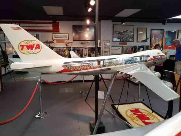 TWA 747 Cutaway