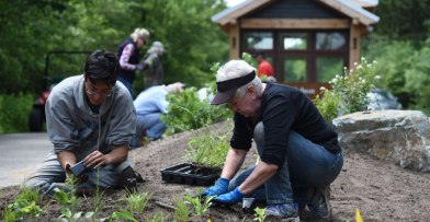 Volunteer at Schlitz Audubon
