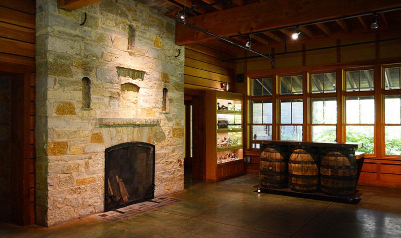 Schlitz Audubon Hearth Room