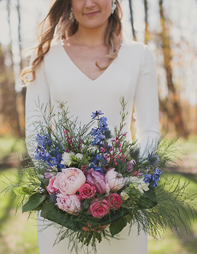 Spring Wedding Schlitz Audubon Bride