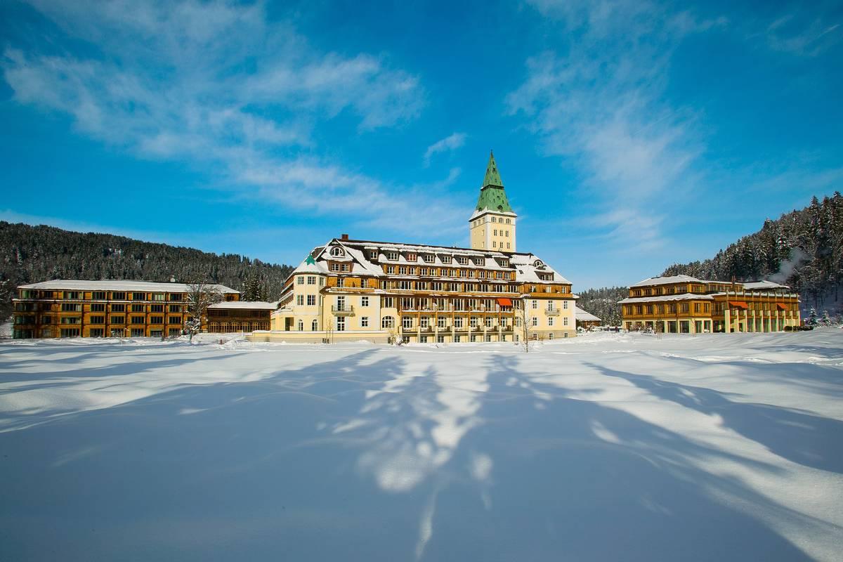 Bildergalerie Hideaway Im Winter Schloss Elmau