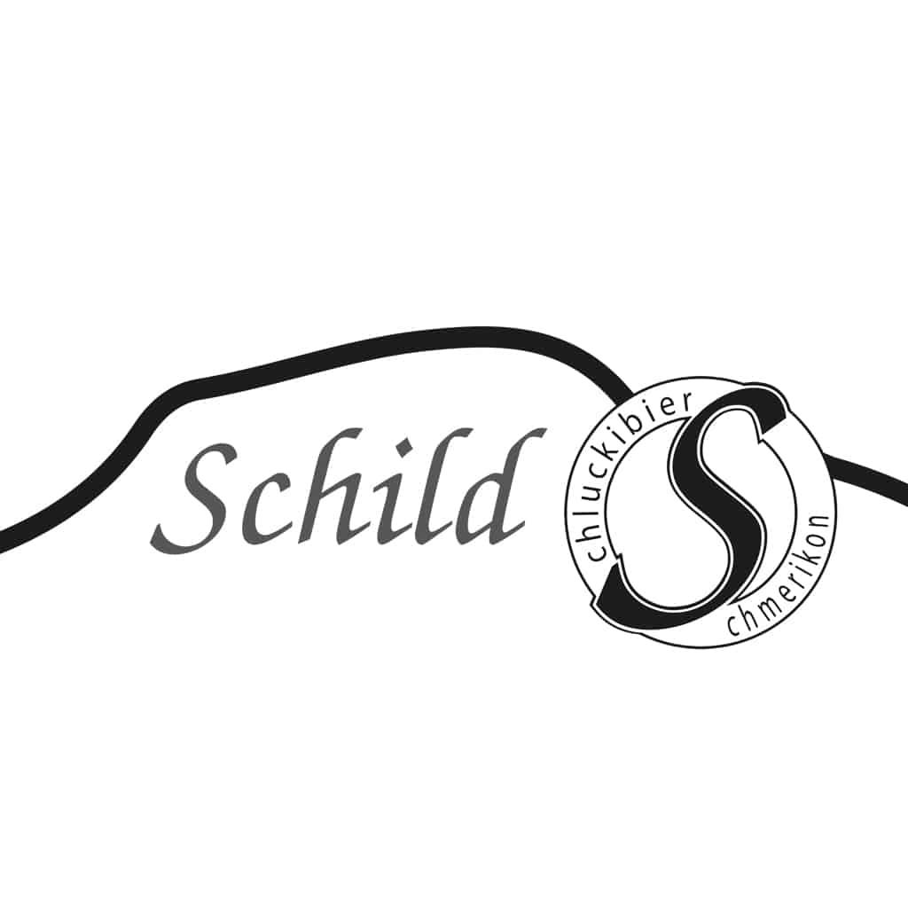 Schild-Bier