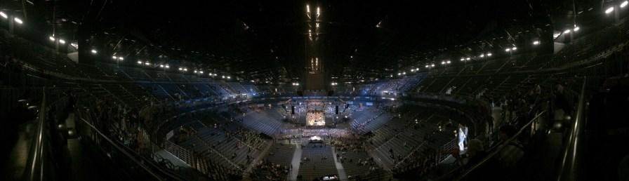 Lanxess Arena...