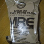 2017年検品:MRE メニューNO23 CHICKEN PESTO PASTA