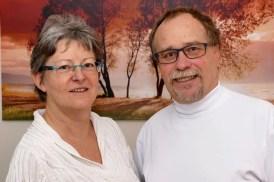 Frau Baldauf und Herr Dipl.-Med. Hjalmar Baldauf