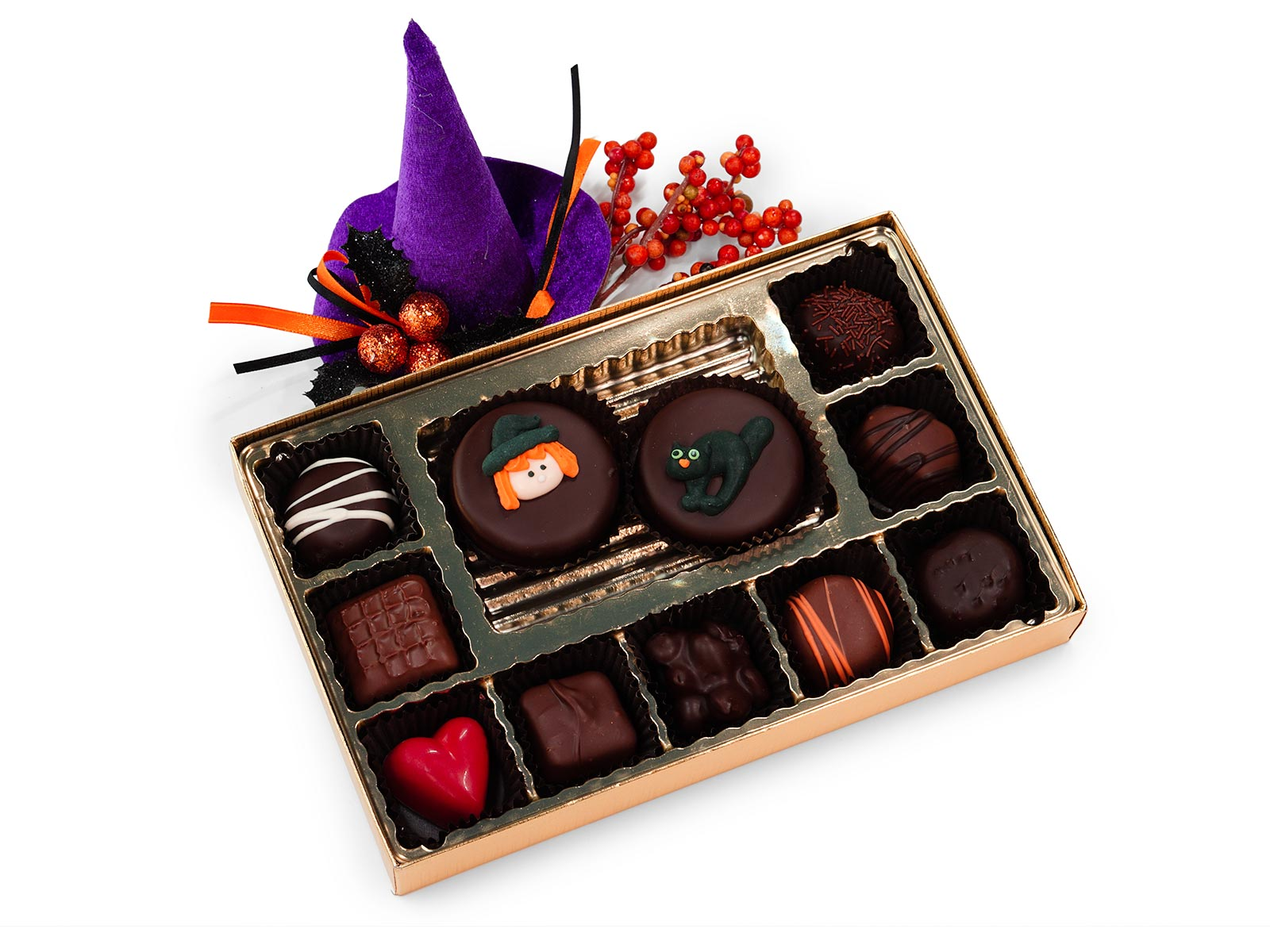 Halloween Holiday Chocolate and Cookies