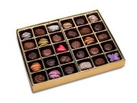 Soft center chocolates