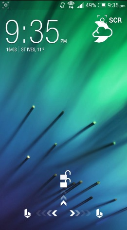 HTC One, Sense 6