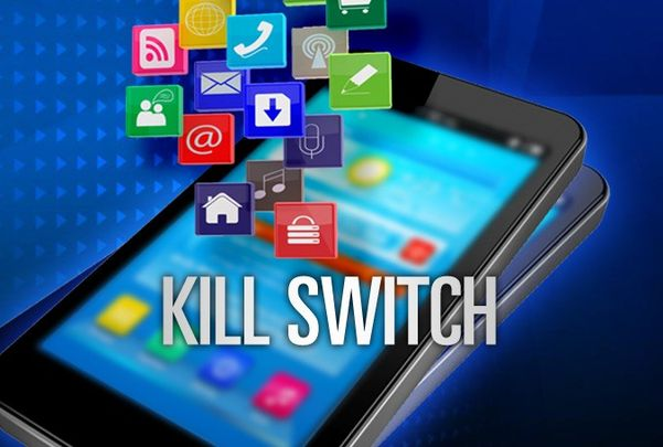 Smartphone, Kill-Switch