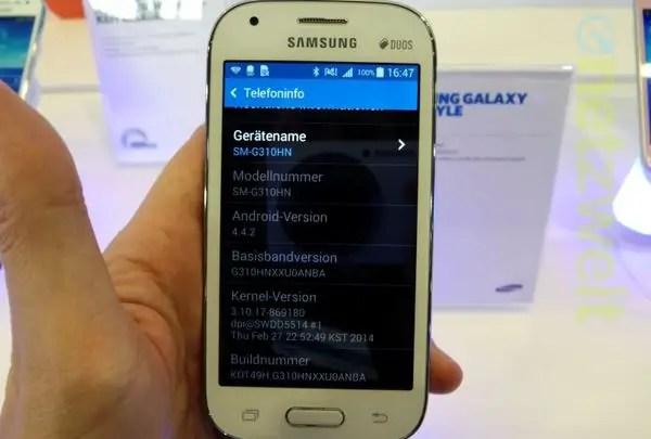Samsung, Galaxy Ace Style, Samsung Galaxy Ace Style, Samsung Ace Style, SM-G310HN