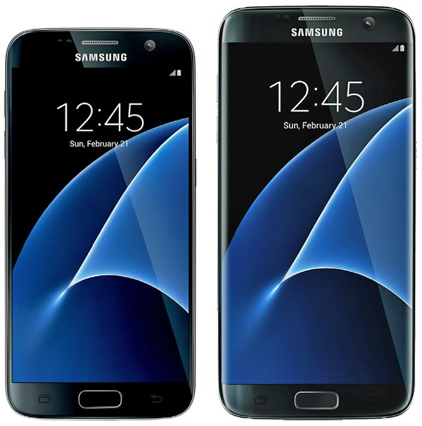 Samsung Galaxy S7 und Samsung Galaxy S7 edge Android Smartphones