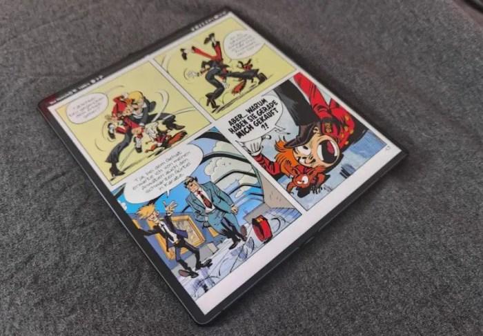 Huawei Mate Xs Comics