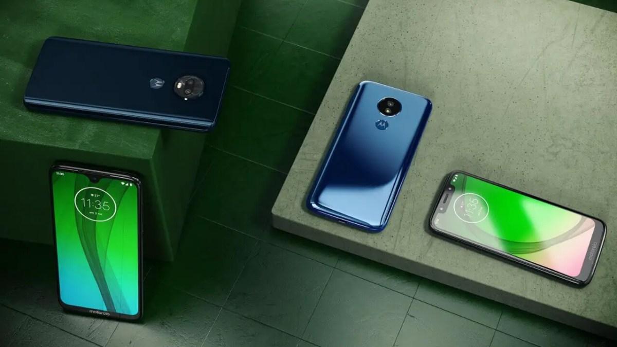 Motorola Moto G7 Reihe