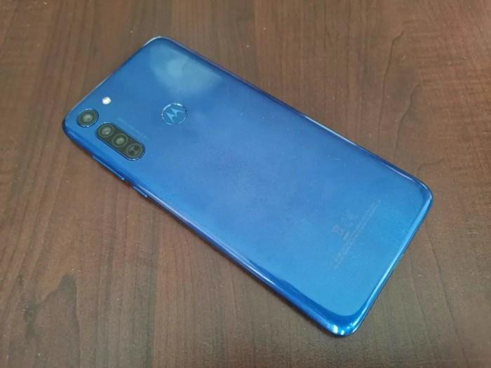 Motorola Moto G8 Rückseite