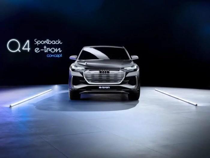 Audi Q4 e-tron Sportback Concept