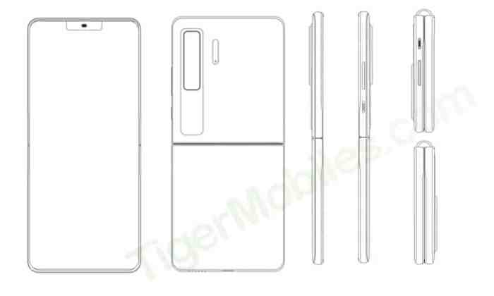 Huawei Mate V Clamshell-Patent